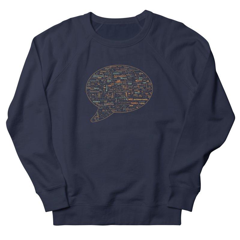 WinC Con 2018 Orange Men's Sweatshirt by Women in Comics Collective Artist Shop