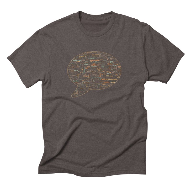 WinC Con 2018 Orange Men's Triblend T-Shirt by Women in Comics Collective Artist Shop