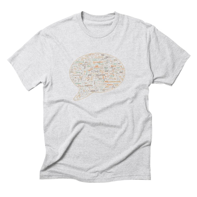 WinC Con 2018 Orange Men's Triblend T-Shirt by Women in Comics Collective Artist Shop