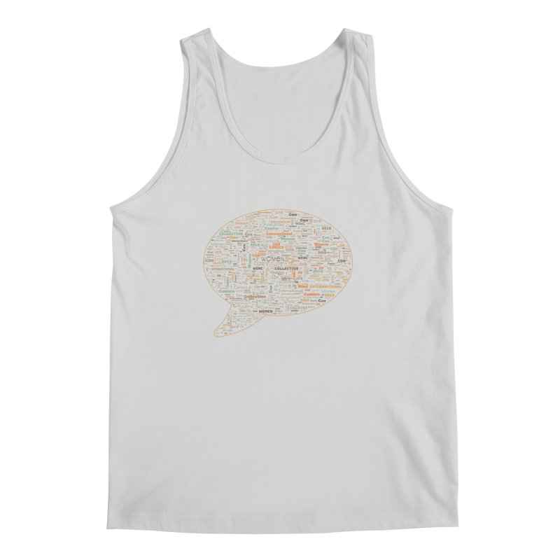 WinC Con 2018 Orange Men's Regular Tank by Women in Comics Collective Artist Shop