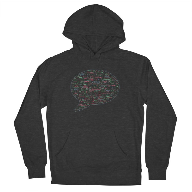WinC Con 2018 Blue Women's Pullover Hoody by Women in Comics Collective Artist Shop