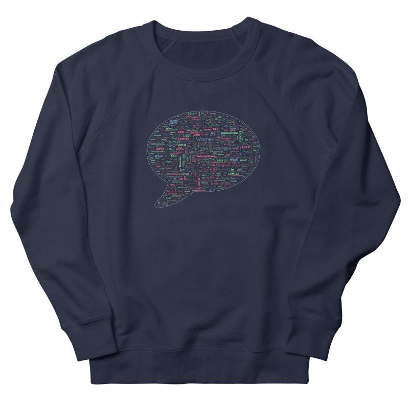 WinC Con 2018 Blue Men's Sweatshirt by Women in Comics Collective Artist Shop