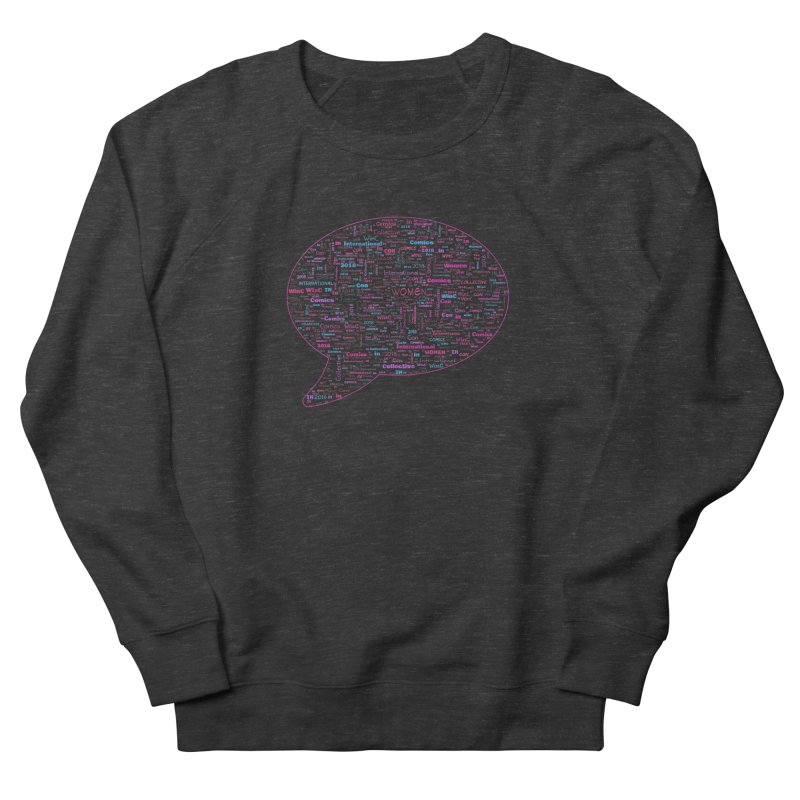 WinC Con 2018 Pink Women's Sweatshirt by Women in Comics Collective Artist Shop