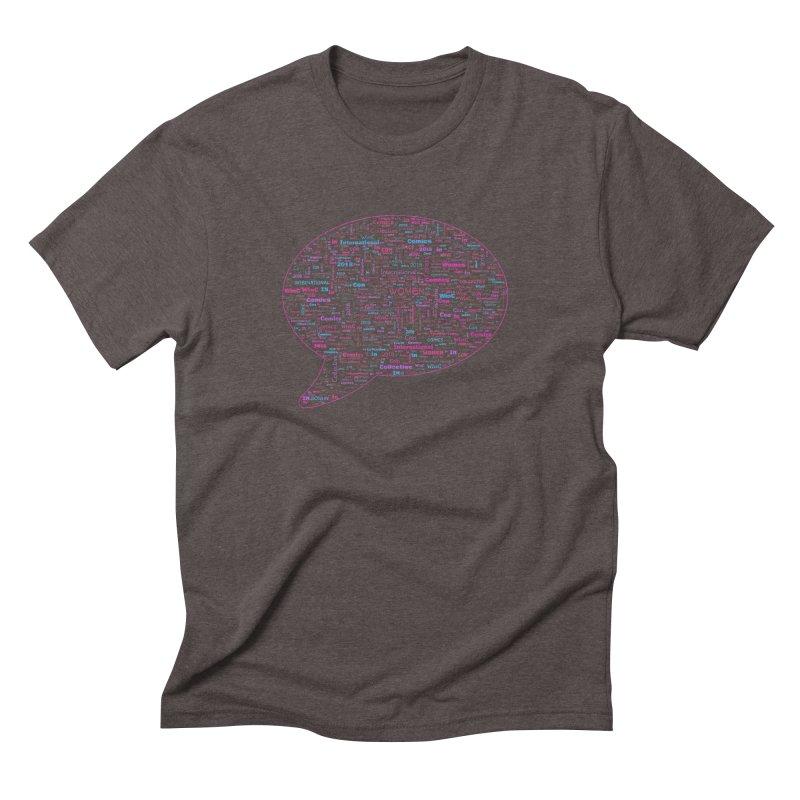 WinC Con 2018 Pink Men's Triblend T-Shirt by Women in Comics Collective Artist Shop