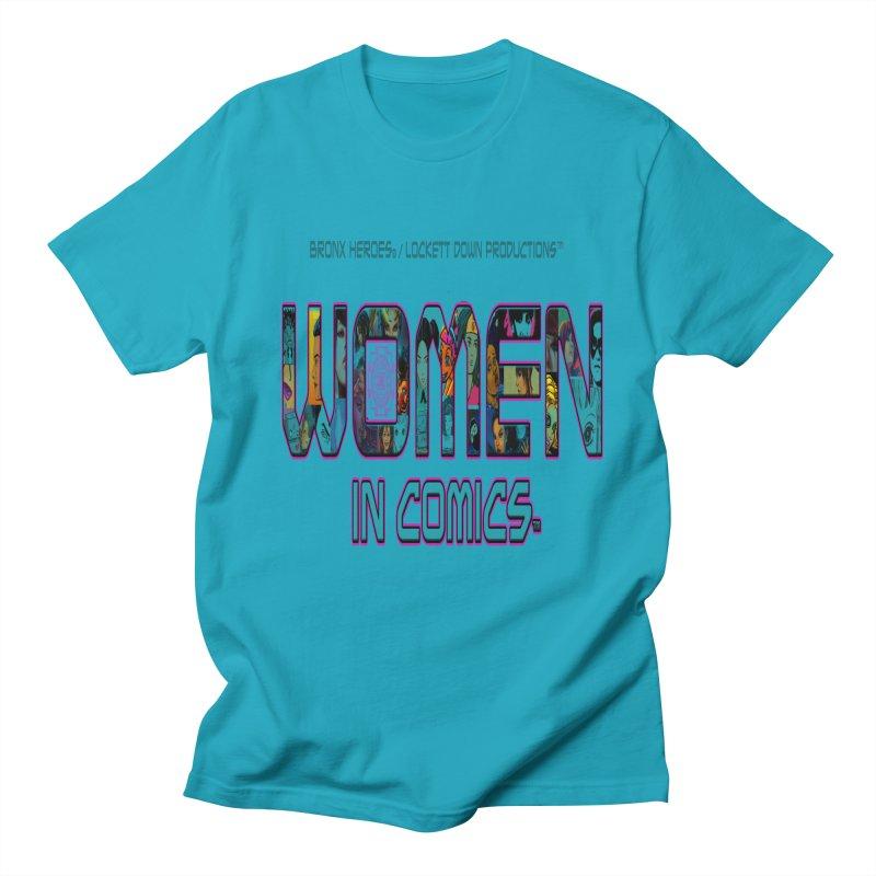 WinC2 Men's Regular T-Shirt by Women in Comics Collective Artist Shop