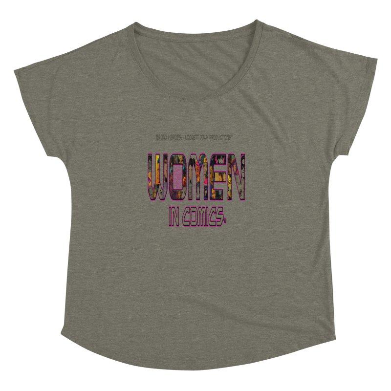 WinC2 Women's Dolman by Women in Comics Collective Artist Shop