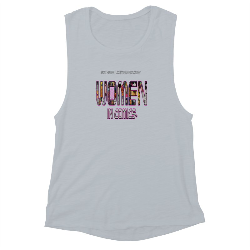 WinC2 Women's Muscle Tank by Women in Comics Collective Artist Shop