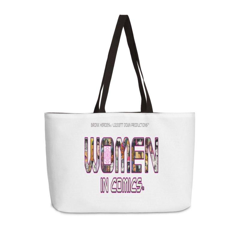 WinC2 Accessories Weekender Bag Bag by Women in Comics Collective Artist Shop