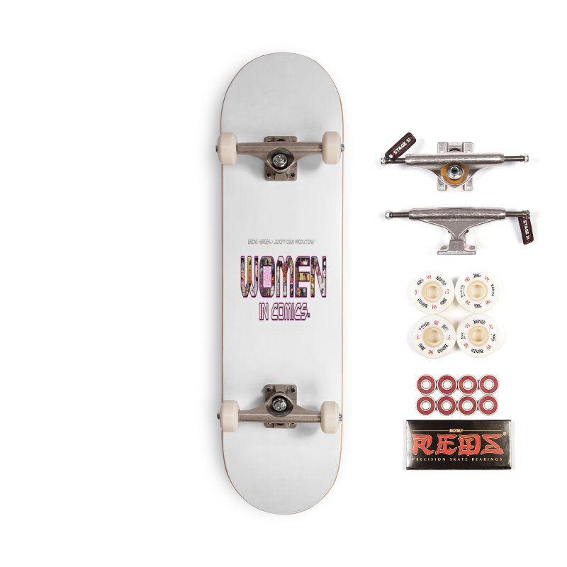 WinC2 Accessories Complete - Pro Skateboard by Women in Comics Collective Artist Shop