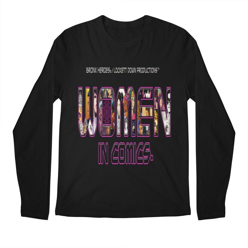 WinC Logo Men's Regular Longsleeve T-Shirt by Women in Comics Collective Artist Shop