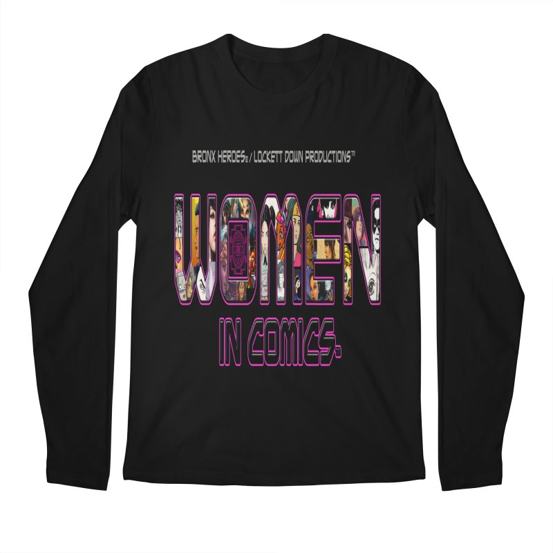 WinC Logo Men's Longsleeve T-Shirt by womenincomicsnyc's Artist Shop