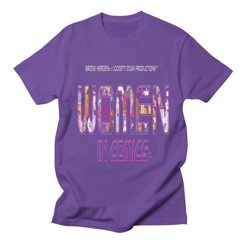 WinC Logo Men's T-Shirt by Women in Comics Collective Artist Shop