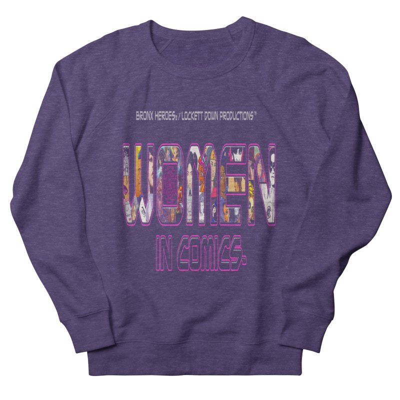 WinC Logo Men's Sweatshirt by Women in Comics Collective Artist Shop