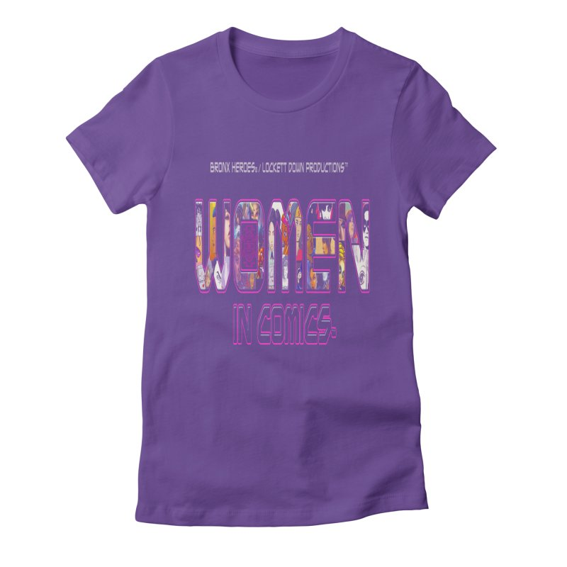 WinC Logo Women's Fitted T-Shirt by Women in Comics Collective Artist Shop