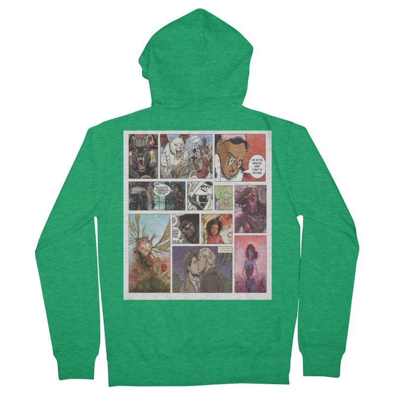 Sheroes Women's Zip-Up Hoody by Women in Comics Collective Artist Shop