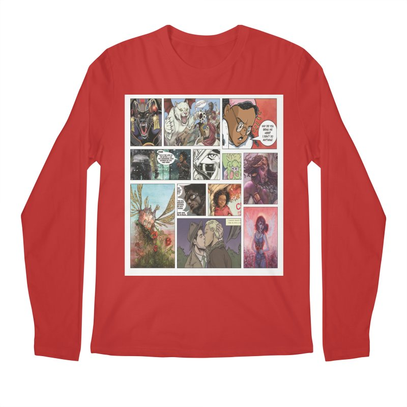 Sheroes Men's Regular Longsleeve T-Shirt by Women in Comics Collective Artist Shop