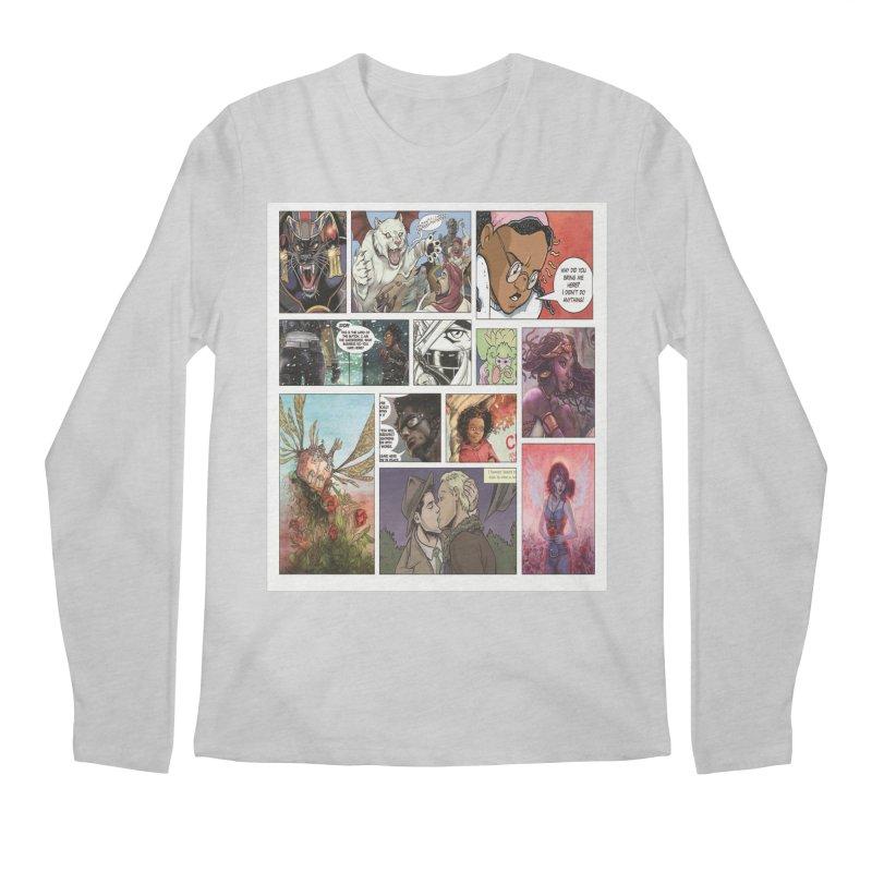 Sheroes Men's Longsleeve T-Shirt by Women in Comics Collective Artist Shop