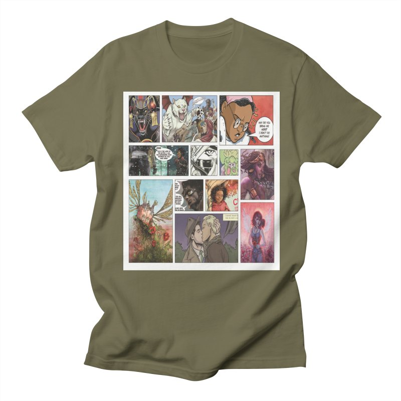 Sheroes Men's T-Shirt by Women in Comics Collective Artist Shop