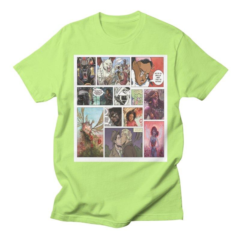 Sheroes Men's T-Shirt by Women in Comics Collective Artist Shop
