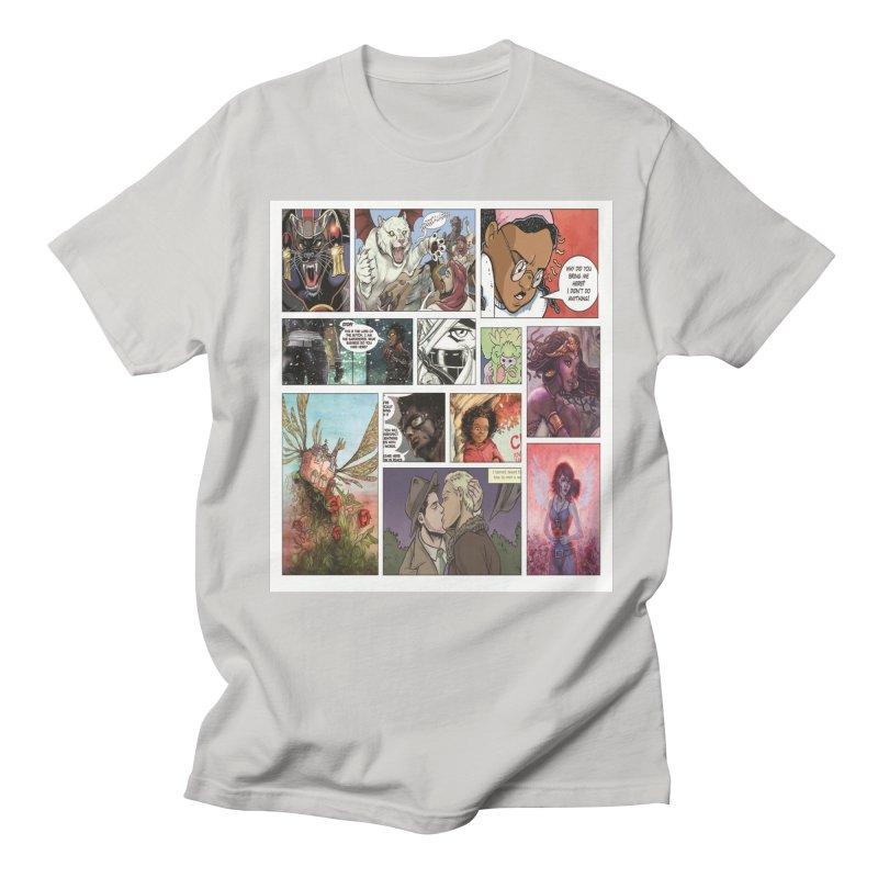 Sheroes Men's Regular T-Shirt by Women in Comics Collective Artist Shop