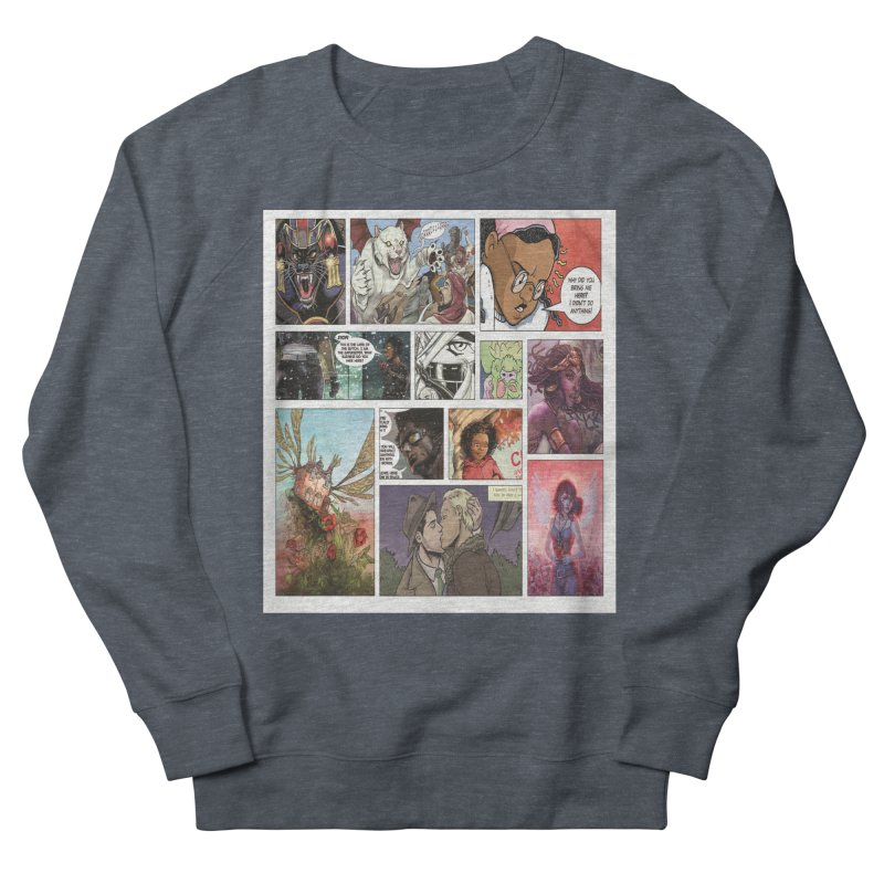 Sheroes Men's Sweatshirt by Women in Comics Collective Artist Shop
