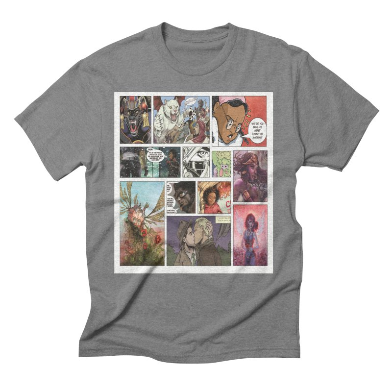 Sheroes Men's Triblend T-Shirt by Women in Comics Collective Artist Shop