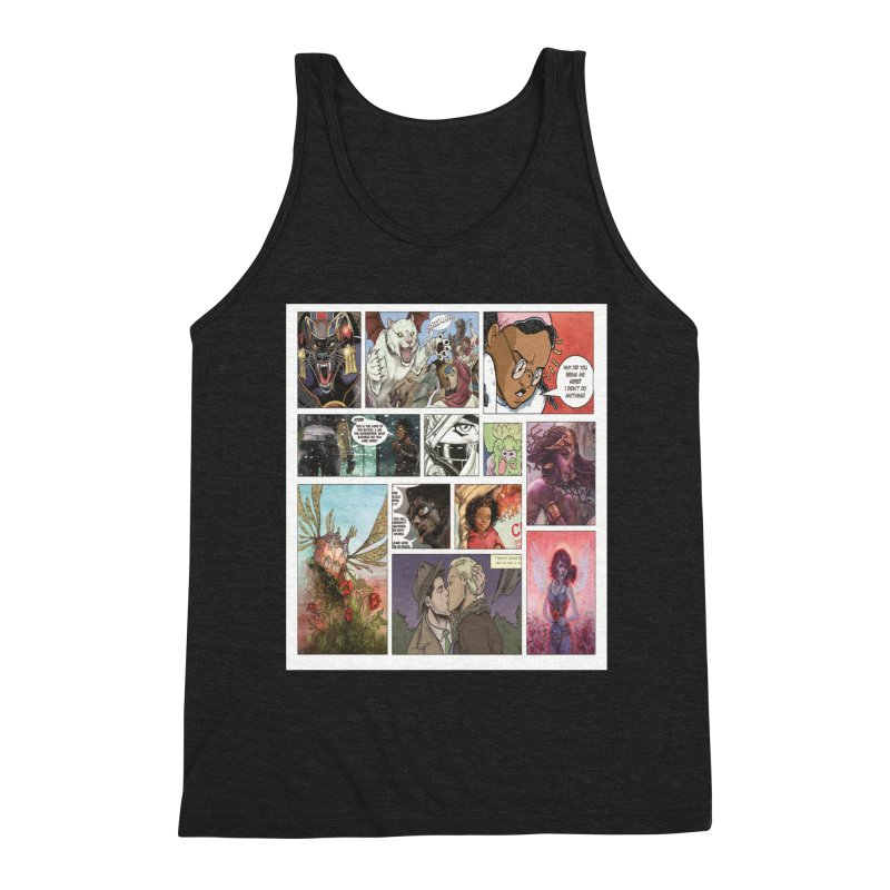 Sheroes Men's Tank by Women in Comics Collective Artist Shop