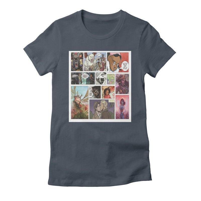 Sheroes Women's T-Shirt by Women in Comics Collective Artist Shop
