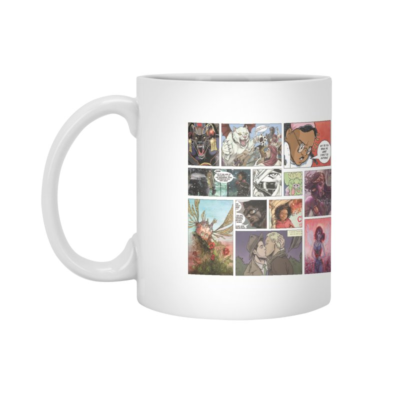 Sheroes Accessories Mug by Women in Comics Collective Artist Shop