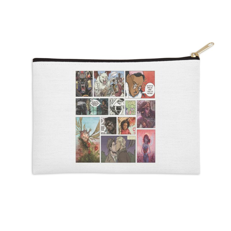 Sheroes Accessories Zip Pouch by Women in Comics Collective Artist Shop