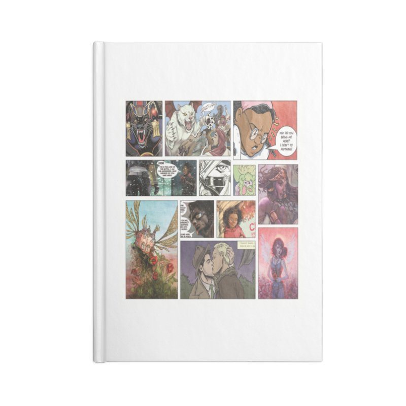 Sheroes Accessories Notebook by Women in Comics Collective Artist Shop