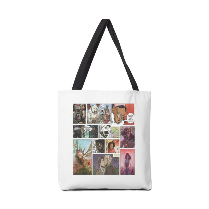 Sheroes Accessories Bag by Women in Comics Collective Artist Shop