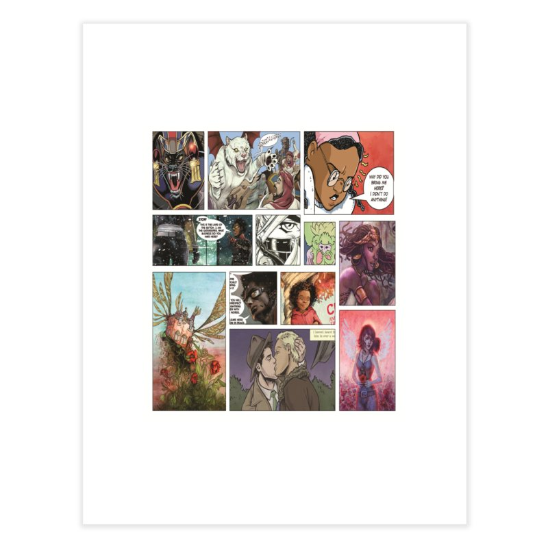 Sheroes Home Fine Art Print by Women in Comics Collective Artist Shop