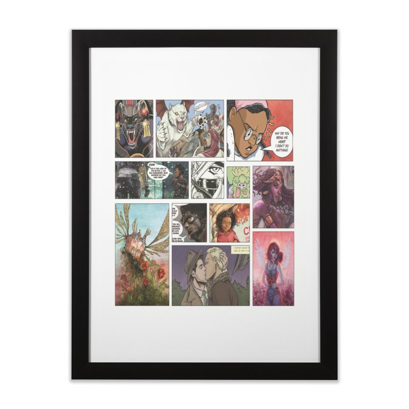 Sheroes Home Framed Fine Art Print by Women in Comics Collective Artist Shop