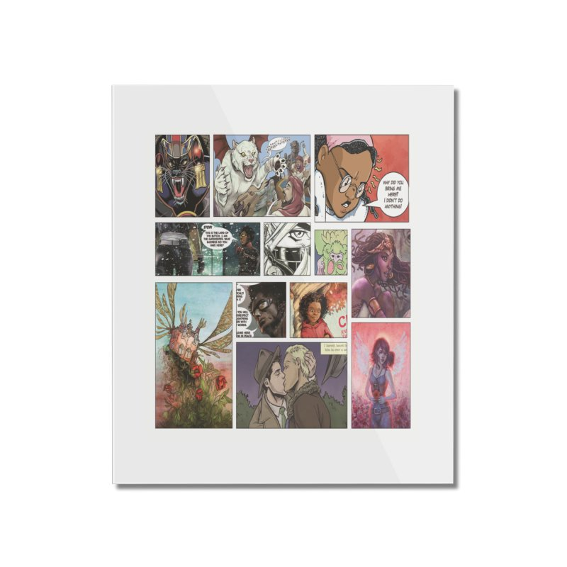 Sheroes Home Mounted Acrylic Print by Women in Comics Collective Artist Shop