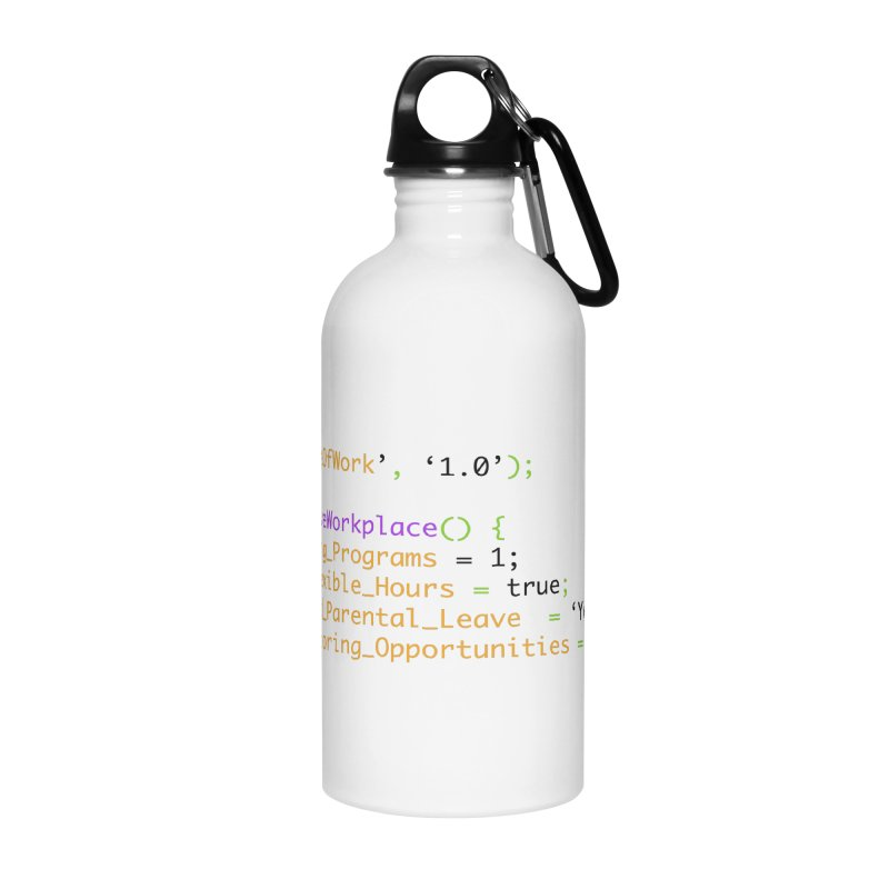 Future of work and inclusive workplace Accessories Water Bottle by Women in Technology Online Store