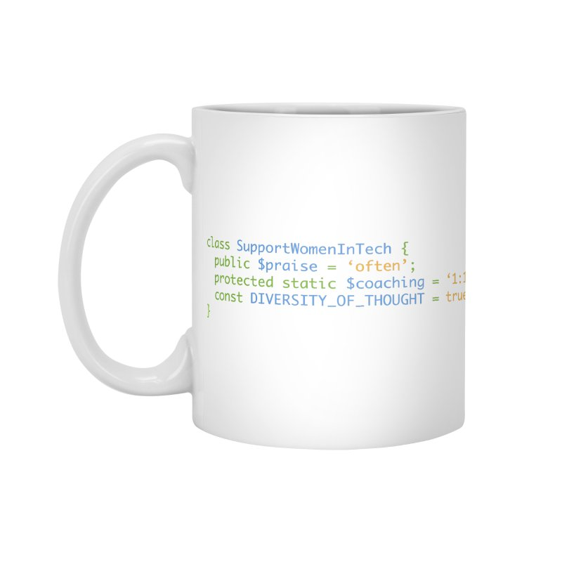 Support Women In Tech Accessories Standard Mug by Women in Technology Online Store