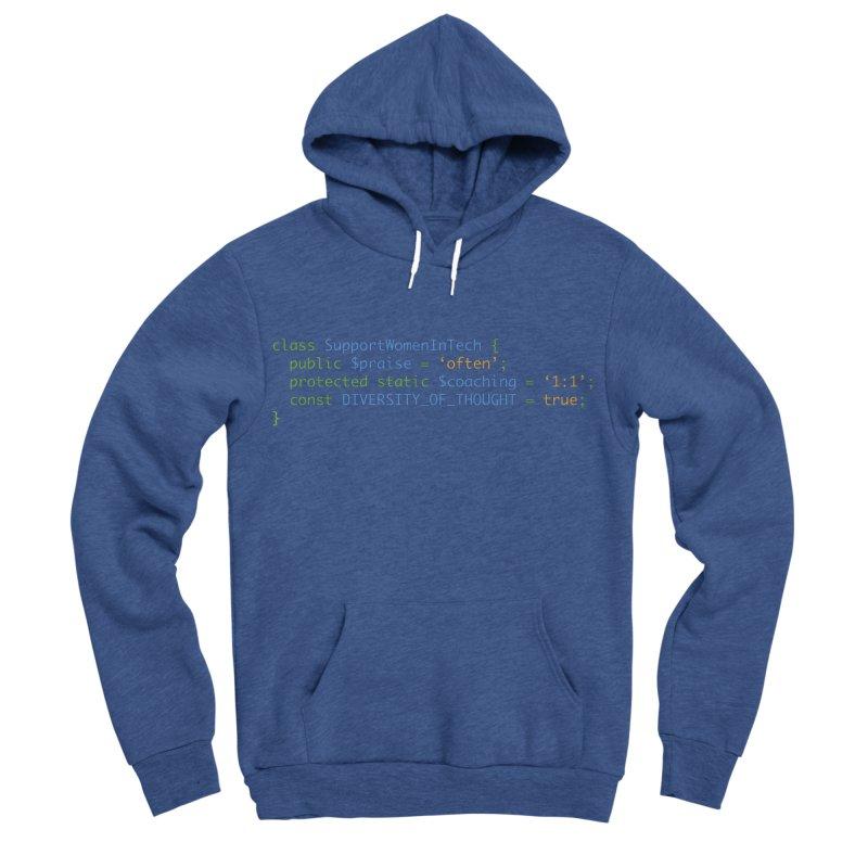 Support Women In Tech Women's Sponge Fleece Pullover Hoody by Women in Technology Online Store