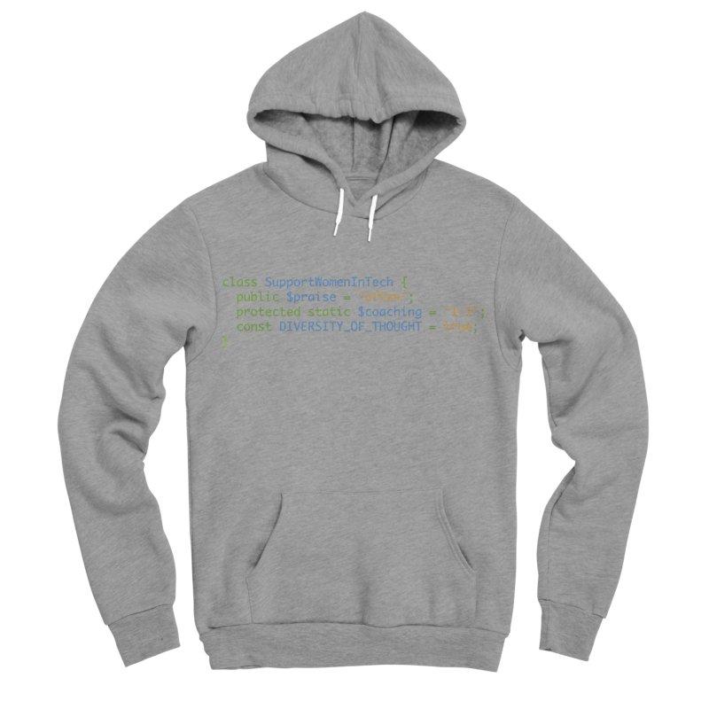 Support Women In Tech Men's Sponge Fleece Pullover Hoody by Women in Technology Online Store