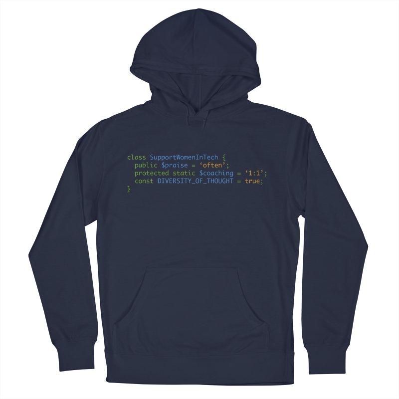 Support Women In Tech Men's Pullover Hoody by Women in Technology Online Store