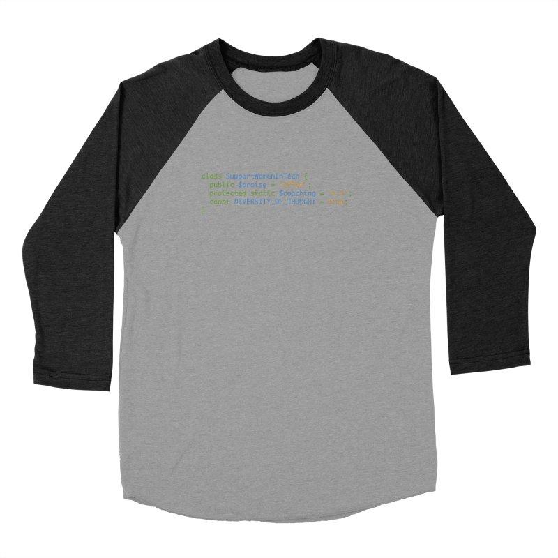 Support Women In Tech Men's Longsleeve T-Shirt by Women in Technology Online Store