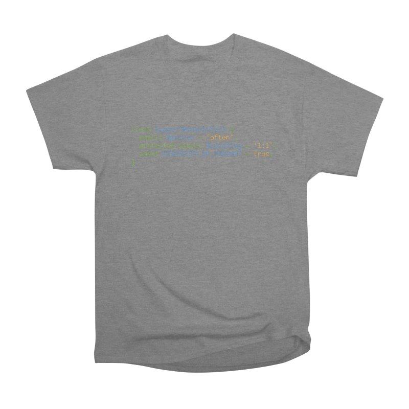 Support Women In Tech Men's Heavyweight T-Shirt by Women in Technology Online Store