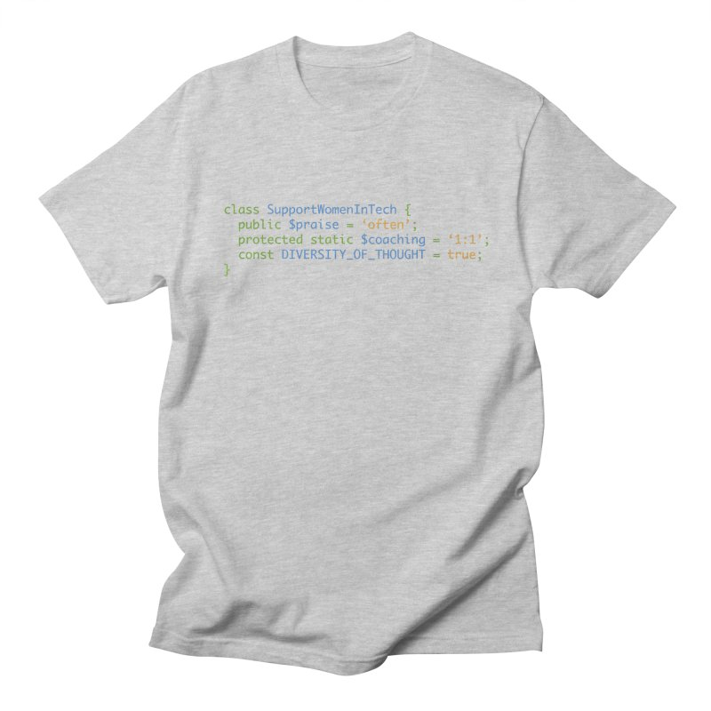 Support Women In Tech Men's Regular T-Shirt by Women in Technology Online Store