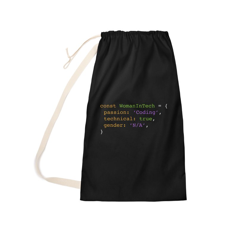 Woman in Tech definition Accessories Laundry Bag Bag by Women in Technology Online Store