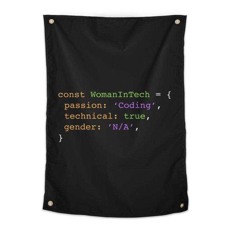 Woman in Tech definition Home Tapestry by Women in Technology Online Store