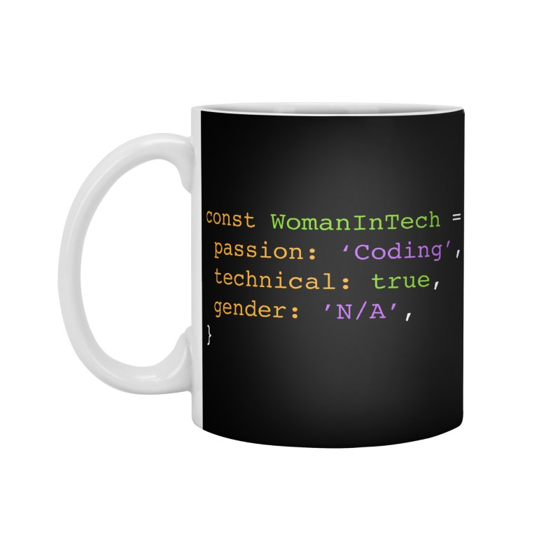 Woman in Tech definition Accessories Standard Mug by Women in Technology Online Store