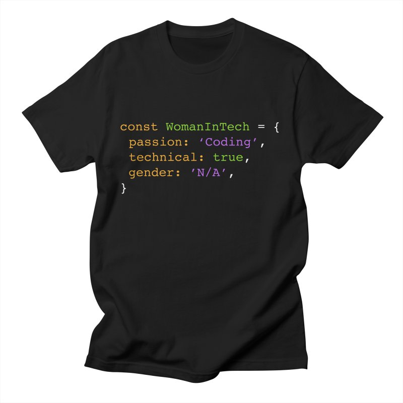 Woman in Tech definition Men's T-Shirt by Women in Technology Online Store