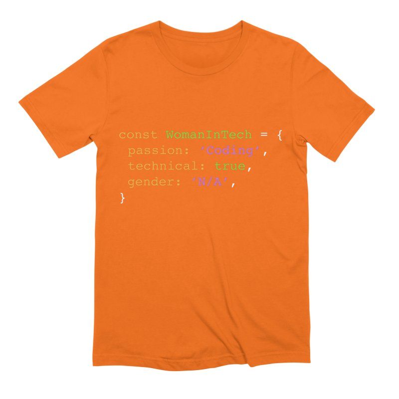 Woman in Tech definition Men's Extra Soft T-Shirt by Women in Technology Online Store