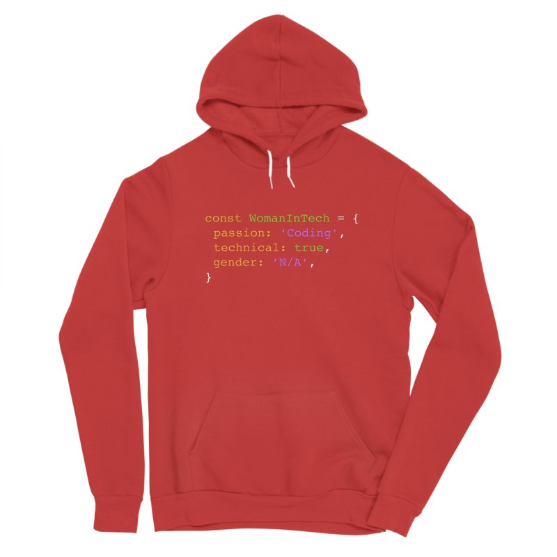 Woman in Tech definition Women's Pullover Hoody by Women in Technology Online Store