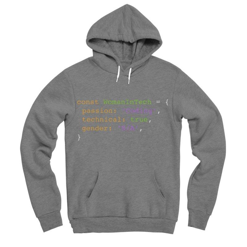 Woman in Tech definition Men's Sponge Fleece Pullover Hoody by Women in Technology Online Store